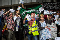 "12.05.2014 - ""Bin British Gas - Put Power In Public Hands!"" - Demonstration"