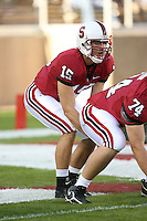 4 November 2006: Alex Loukas during Stanford's 42-0 loss to USC at Stanford Stadium in Stanford, CA.