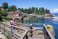 Bamfield, BC, Vancouver Island, British Columbia, Canada - Pacific Rim, West Coast Resort Village in Barkley Sound (Model Released)