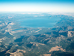 Lake Tahoe and the Crystal Range looking north  -from the window seat of Southwest #1882 from SMF to DAL, September 2016.<br /> <br /> Center left is Fallen Leaf Lake. Bottom right is Hope Valley, Alpine County.