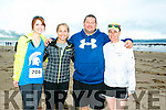 At the Maharees Brandon Bay Half Marathon on Saturday were l-r  Liz Bolts, Amanda Fields, Andy Ford and Joy Zaher