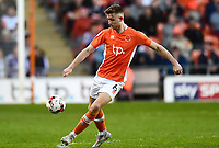 Blackpool's Will Aimson in action<br /> <br /> Photographer Richard Martin-Roberts/CameraSport<br /> <br /> The EFL Sky Bet League Two Play-Off Semi Final First Leg - Blackpool v Luton Town - Sunday May 14th 2017 - Bloomfield Road - Blackpool<br /> <br /> World Copyright &copy; 2017 CameraSport. All rights reserved. 43 Linden Ave. Countesthorpe. Leicester. England. LE8 5PG - Tel: +44 (0) 116 277 4147 - admin@camerasport.com - www.camerasport.com