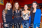 Diellza Baftijari and Arita Kresniqi from Tralee celebrating their birthdays in Ristorante Uno on Saturday.<br /> L to r: Bledona Ashani, Diellza Baftijari, Arita Kresniqi and Shkurda Hoxha.