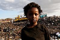 Dandora dump site in Nairobi, Kenya.