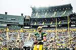 Green Bay Packers vs. Pittsburgh Steelers at Lambeau Field in Green Bay, Wis., on August 16, 2018.