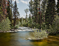 Lake Creek in the Laurance S. Rockefeller Preserve in Grand Teton National Park, Wyoming.