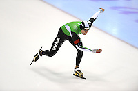 SCHAATSEN: HEERENVEEN: 05-10-2013, IJsstadion Thialf, Trainingwedstrijd, 500m, Freddy Wennemars, ©foto Martin de Jong