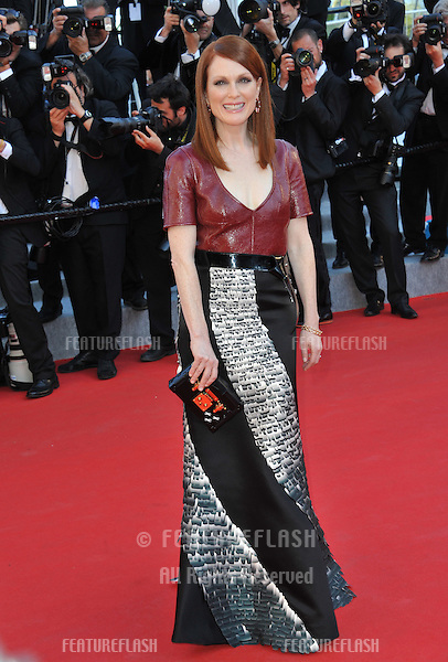 Julianne Moore at the premiere of &quot;Mr. Turner&quot; at the 67th Festival de Cannes.<br /> May 15, 2014  Cannes, France<br /> Picture: Paul Smith / Featureflash