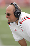 MADISON, WI - SEPTEMBER 4: Head coach Barry Alvarez of the Wisconsin Badgers  against the University of Central Florida Golden Knights at Camp Randall Stadium on September 4, 2004 in Madison, Wisconsin. Alvarez recorded his 100th victory as a head coach at Wisconsin. The Badgers beat the Golden Knights 34-6. (Photo by David Stluka)