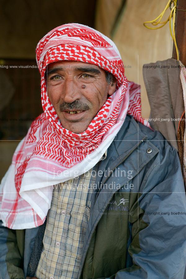 LEBANON Deir el Ahmad, a maronite christian village in Beqaa valley, syrian refugee camp / LIBANON Deir el Ahmad, ein christlich maronitisches Dorf in der Bekaa Ebene, Camp fuer syrische Fluechtlinge