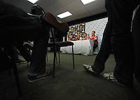 St Kilda Saints v Sydney Swans press conference at the Aotea Lounge, Westpac Stadium, Wellington, New Zealand on Wednesday, 24 May 2013. Photo: Dave Lintott / lintottphoto.co.nz