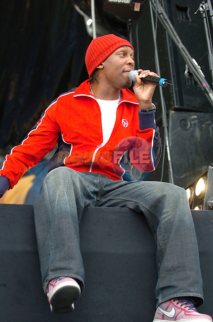 Lemar O2 in the Park 27-08-05.Photo: Colin Bell / Newsfile