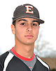 Michael Palazzolo of Half Hollow Hills East poses for a portrait during the Newsday varsity baseball season preview photo shoot outside company headquarters on Sunday, Mar. 13, 2016.