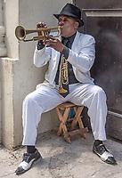 Playing for the tourists, La Habana Vieja