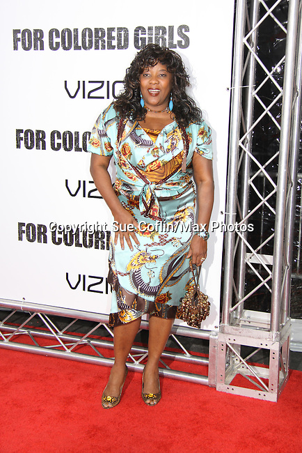 "Loretta Devine attending The New York Special Screening of Tyler Perry's next film ""For Colored Girls"" on October 25, 2010 at the Ziegfield Theater, New York City, New York. (Photo by Sue Coflin/Max Photos)"