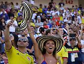 Hinchas en el partido entre Colombia y Estados Unidos en la Copa América Centenario USA 2016 en el Levi's Stadium en Santa Clara, California, el 3 de junio de 2016.<br /> Foto: Archivolatino<br /> <br /> COPYRIGHT: Archivolatino/Alejandro Sanchez<br /> Prohibida su venta y su uso comercial.