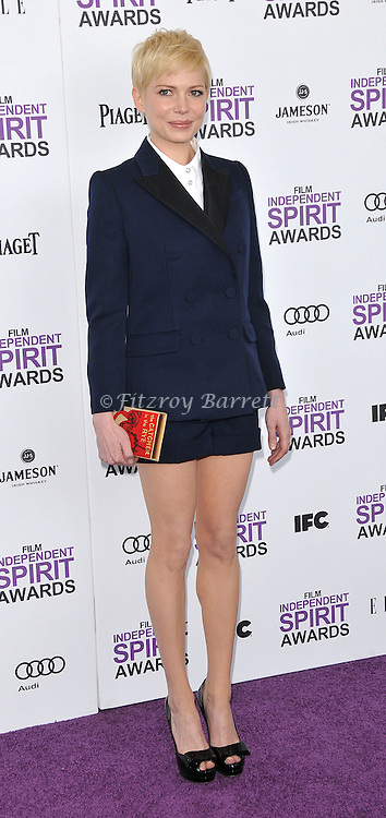 Michelle Williams at the 2012 Film Independent Spirit Awards held at Santa Monica Beach, CA.. February 25, 2012