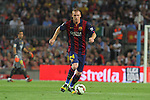 18.10.2014 Barcelona, Spain.La Liga day 8. Picture show Mathieu in action during game between FC Barcelona against Eibar at Camp Nou