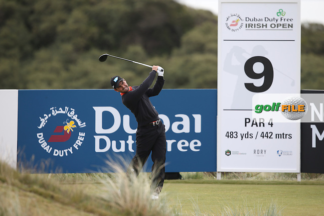 Moritz Lampert (GER) during Round Three of the 2015 Dubai Duty Free Irish Open Hosted by The Rory Foundation at Royal County Down Golf Club, Newcastle County Down, Northern Ireland. 30/05/2015. Picture David Lloyd | www.golffile.ie