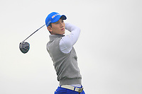 Seungtaek Oh of Team Republic of Korea on the 10th tee during Round 4 of the WATC 2018 - Eisenhower Trophy at Carton House, Maynooth, Co. Kildare on Saturday 8th September 2018.<br /> Picture:  Thos Caffrey / www.golffile.ie<br /> <br /> All photo usage must carry mandatory copyright credit (© Golffile | Thos Caffrey)