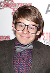 Andrew Keenan-Bolger sporting a pair of signature 'Ralphie' specs at the Broadway Opening Night Performance for 'A Christmas Story - The Musical'  at the Lunt Fontanne Theatre in New York City on 11/19/2012.