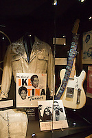 Memphis, Tennessee, February 2009. Ike Turners Guitar. The Soulsville USA Stax Museum is stuffed to the ceiling with exhibits from the blues, soul and rock 'n roll era, when the famous recording studio and record label made its fame. The city of Memphis is the place where Blues and Soul Music grew famous. Photo by Frits Meyst/Adventure4ever.com