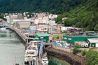 Downtown Juneau, Alaska, USA