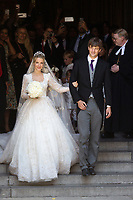 Religious wedding of Prince Ernst Junior of Hanover and Ekaterina Malysheva - Hanover - Germany