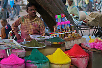 Pre Holi Festival in Old Delhi India