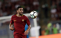 Calcio, Serie A: Roma, stadio Olimpico, 26 agosto, 2017.<br /> Roma's Gr&eacute;goire Defrel in action during the Italian Serie A football match between Roma and Inter at Rome's Olympic stadium, August 26, 2017.<br /> UPDATE IMAGES PRESS/Isabella Bonotto
