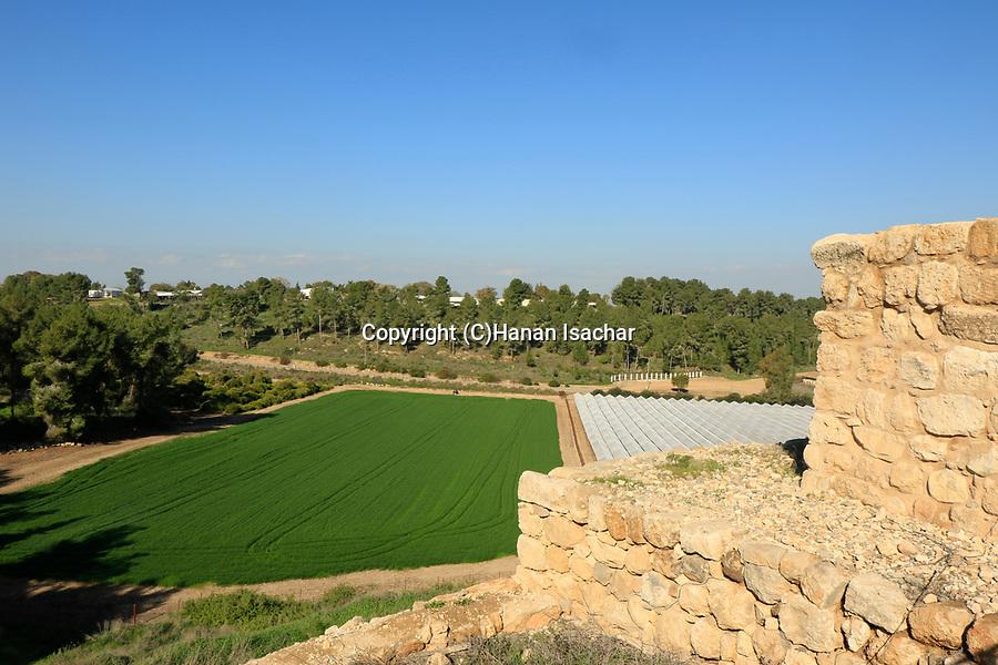 Israel,Tel Lachish, the site of biblical Lachish, the city gate