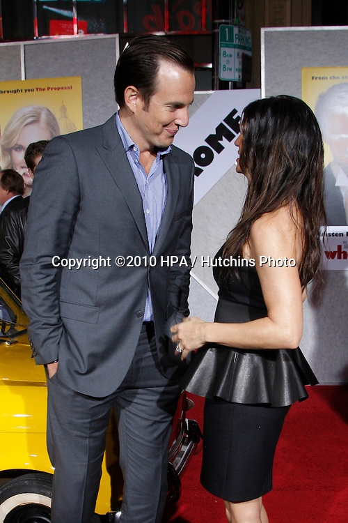 "Will Arnett & Fergie.arriving at the ""When in Rome"" World Premiere.El Capitan Theater.Los Angeles, CA.January 27, 2010.©2010 HPA / Hutchins Photo...."