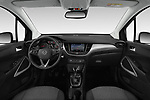 Stock photo of straight dashboard view of 2019 Opel Crossland-X Edition 5 Door SUV Dashboard