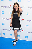 Sophia Grace arriving for WE Day 2018 at Wembley Arena, London, UK. <br /> 07 March  2018<br /> Picture: Steve Vas/Featureflash/SilverHub 0208 004 5359 sales@silverhubmedia.com