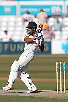 Ravi Bopara hits 4 runs for Essex during Essex CCC vs Somerset CCC, Specsavers County Championship Division 1 Cricket at The Cloudfm County Ground on 26th June 2018