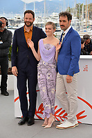 """CANNES, FRANCE. May 17, 2019: Kyle Marvin. Gayle Rankin & Michael Angelo Covino at the photocall for the """"The Climb"""" at the 72nd Festival de Cannes.<br /> Picture: Paul Smith / Featureflash"""