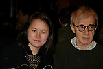 Woody Allen ans Soon-Yi Allen.Attending the Opening Night Performance of.TWENTIETH CENTURY at the American Airlines Theatre in New York City..March 25, 2004.© Walter McBride /