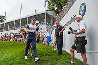 Rory McIlroy (NIR) heads for the tee on 18 during Rd4 of the 2019 BMW Championship, Medinah Golf Club, Chicago, Illinois, USA. 8/18/2019.<br /> Picture Ken Murray / Golffile.ie<br /> <br /> All photo usage must carry mandatory copyright credit (© Golffile | Ken Murray)