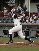 April 17, 2004:  Juan Tejeda of the Erie Seawolves, Eastern League (AA) affiliate of the Detroit Tigers, during a game at Jerry Uht Park in Erie, PA.  Photo by:  Mike Janes/Four Seam Images