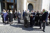 Roma, 16 Aprile 2015<br /> Partigiane e partigiani entrano in Parlamento.<br /> Celebrazione alla Camera dei deputati del 70° anniversario della liberazione dal nazifascismo.