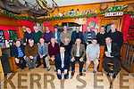 The Portmagee Senior side who defeated St Marys in the Final the South Kerry Senior Championship in 1968 pictured here in the Moorings Bar, Portmagee on Saturday night at an event to commemorate the occasion were front l-r; John Joe O'Mahony(representing his brother Jamsie), Timmy Casey(Representing his brother Michael), Jame McGill, Brendan Casey, John O'Keeffe(Mascot on the day), Leo O'Shea, Mikey Joe Brennan, Vincent O'Connell, John F.O'Sullivan, back l-r; Richie McGill(representing his brother Pats), Jim Spillane, Johnny Casey, John O'Leary, Paul O'Shea(Captain), Patie Casey, Nealie Murphy, Patrick Grandfield & Jimmy Caey(Manager).