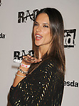 LOS ANGELES, CA - SEPTEMBER 30: Alessandra Ambrosio arrives at the Official Launch Party For RAGE Hosted By Charlize Theron at Chinatown's Historical Central Plaza on September 30, 2011 in Los Angeles, California.