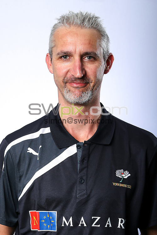 Picture by Alex Whitehead/SWpix.com - 03/04/2015 - Cricket - Yorkshire CCC Headshots - Headingley Stadium, Leeds, England - Yorkshire's Jason Gillespie.