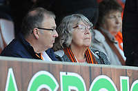 Blackpool fans enjoy the pre-match atmosphere <br /> <br /> Photographer Kevin Barnes/CameraSport<br /> <br /> The Carabao Cup First Round - Blackpool v Macclesfield Town - Tuesday 13th August 2019 - Bloomfield Road - Blackpool<br />  <br /> World Copyright © 2019 CameraSport. All rights reserved. 43 Linden Ave. Countesthorpe. Leicester. England. LE8 5PG - Tel: +44 (0) 116 277 4147 - admin@camerasport.com - www.camerasport.com