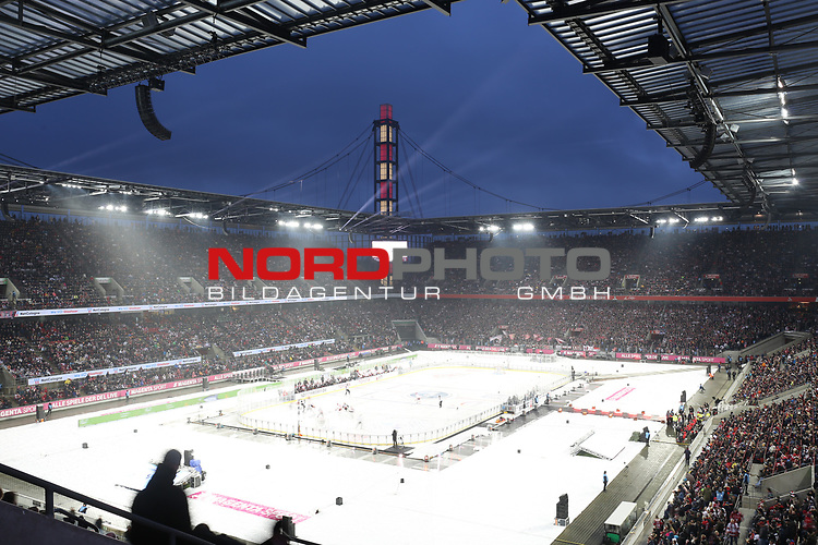 12.01.2019, Rhein Energie Stadion, Köln, GER, DEL Wintergame, Kölner Haie - Düsseldorfer EG, im Bild<br /> Übersicht Rhein Energie Stadion<br /> <br /> Foto © nordphoto / Mueller