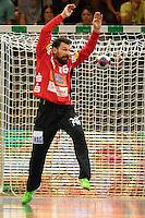 Primoz Prost (FAG) im Tor mit einer Parade