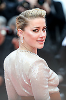 """CANNES - MAY 15:  Amber Heard arrives to the premiere of """" LES MISÉRABLES """" during the 2019 Cannes Film Festival on May 15, 2019 at Palais des Festivals in Cannes, France.      <br /> CAP/MPI/IS/LB<br /> ©LB/IS/MPI/Capital Pictures"""