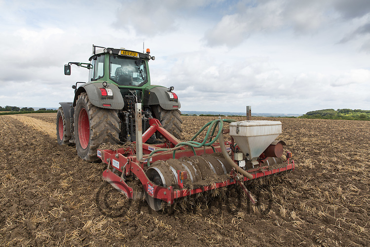 Cultivating Barley stubble <br /> Picture Tim Scrivener 07850 303986<br /> &hellip;.covering agriculture in the UK&hellip;.