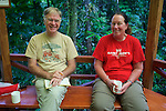 Terry Erwin & Kristina Timmerman At Field Station, Tiputini