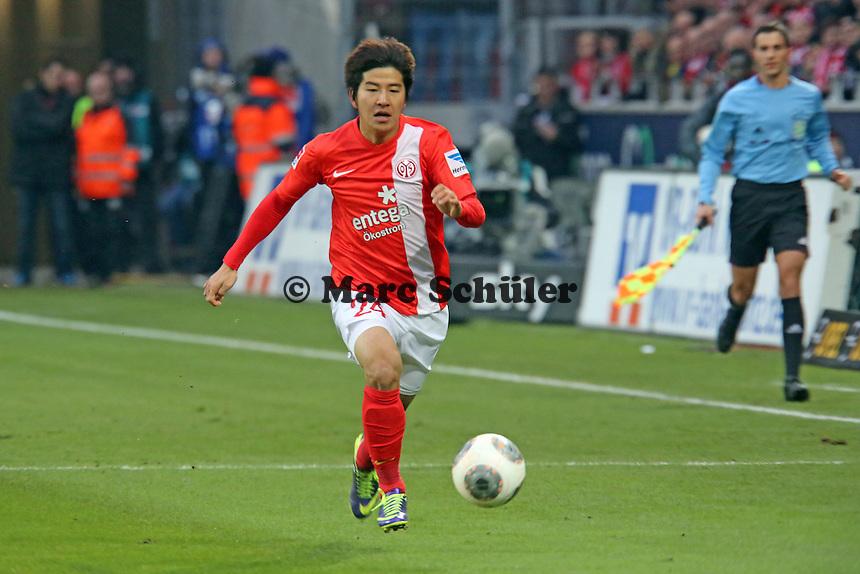 Joo-Ho Park (Mainz) - 1. FSV Mainz 05 vs. Borussia Dortmund, Coface Arena, 14. Spieltag